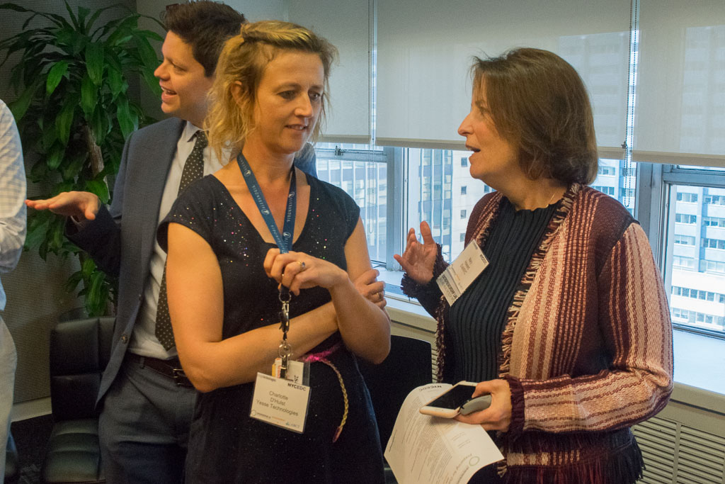 Charlotte D'Hulst, Yesse Technologies and Mary Howard