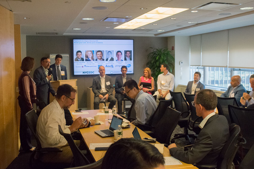 Panel #2: Know your ask, know your investors with Chris Barnstable-Brown, WilmerHale, Thjis Spoor, AzurRX BioPharma, Sundeep Bhan, Prognos, Sue Crinnion, JP Morgan Chase and Michael Baran, Pfizer Ventures