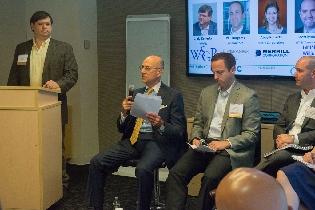 Panel #3: Tools and Techniques to aid prep for Due Diligence with Craig Kenesky, WSGR, Philip Glick, Conner Strong and Phil Bergamo, EisnerAmper