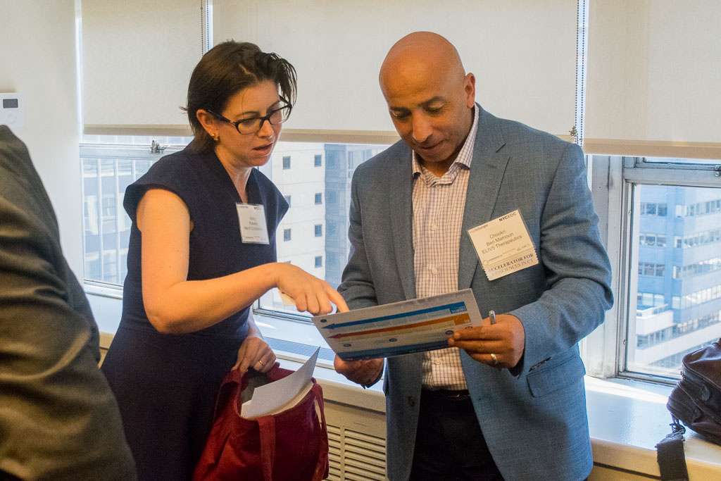 Abby Roberts, Merill Corporation and Chouckri Ben Mamoun, eliv5therapeutics