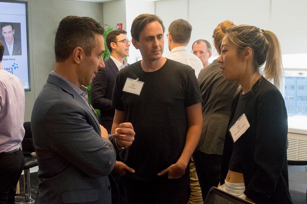 Michael Osso,Crohn's & Colitis Foundation's, Chad Dyar, Theraputix and Nini Fan