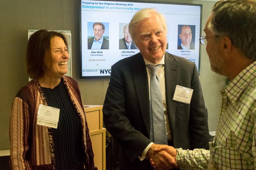 Mary Howard, ElabNYC | ABCT and John Bradley, Torreya Partners