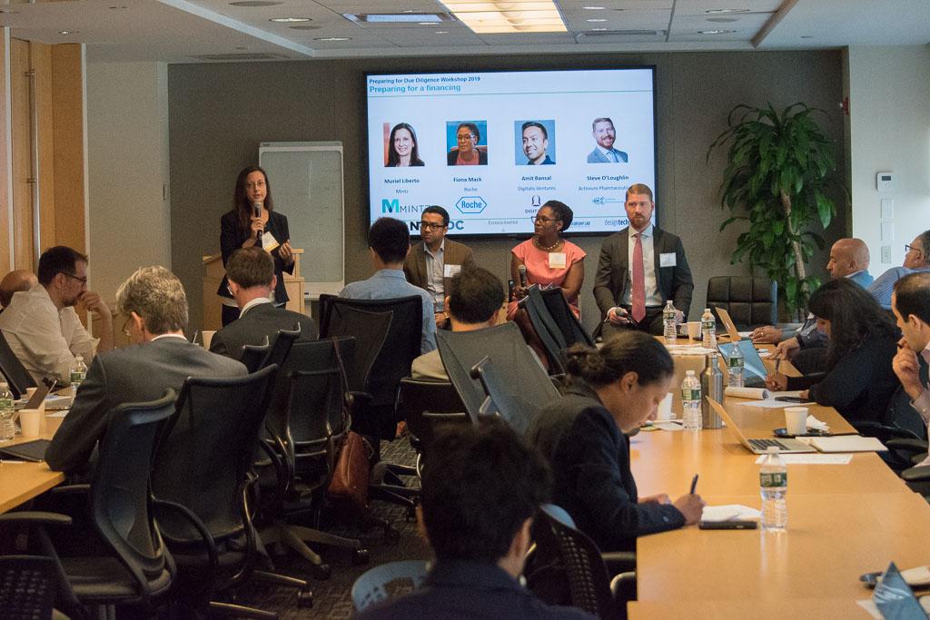 "Panel#1: ""Preparing for a financing"" with Muriel Liberto, Mintz, Amit Bansal, Digitalis Ventures, Fiona Mack, Roche and Steve O'Loughlin, Actinium Pharmaceuticals"