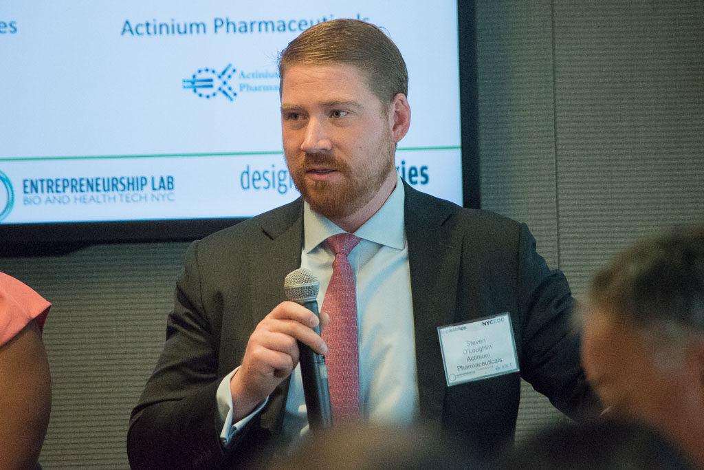Steve O'Loughlin, Actinium Pharmaceuticals