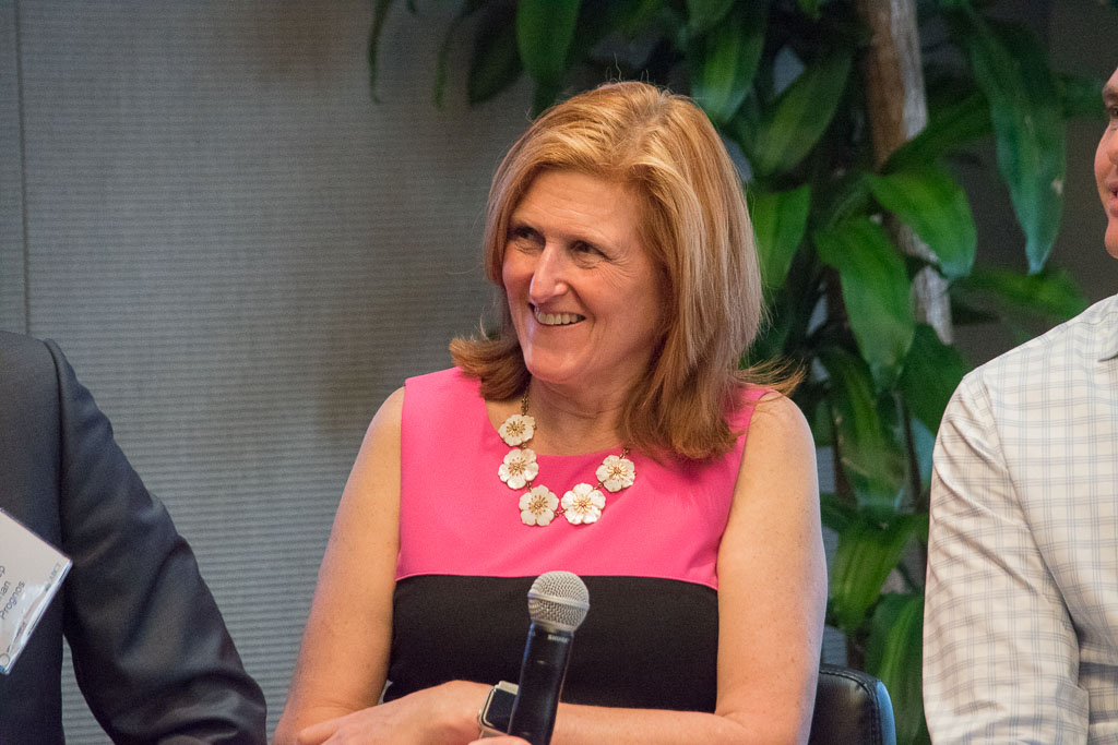 Sue Crinnion, JP Morgan Chase