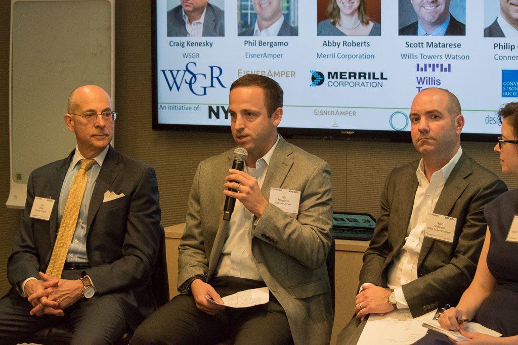 Philip Glick, Conner Strong, Phil Bergamo, EisnerAmper and Scott Matarese, Willis Towers Watson