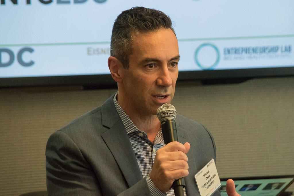 Michael Osso, Crohn's & Colitis Foundation's