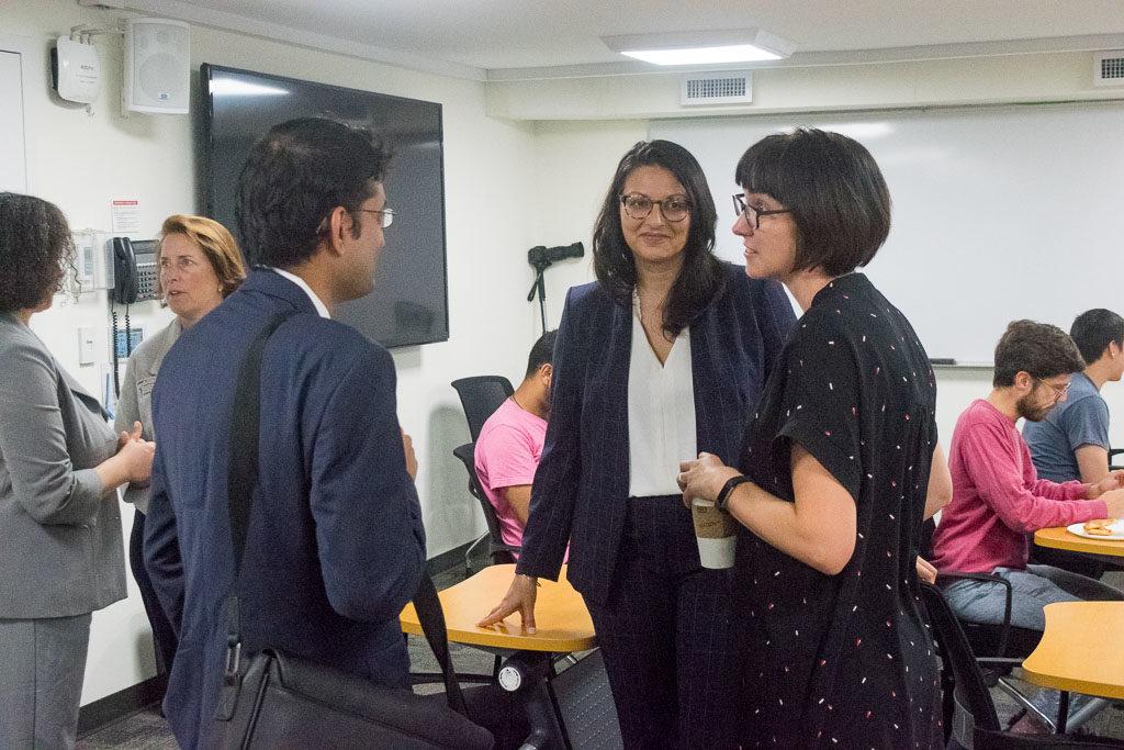 Sunit Juriwala, ASTHMAXcel, Shivali Gulab, Avalia Immunotherapies and Karolyn Chamberlin, ELabNYC Head of mentorship