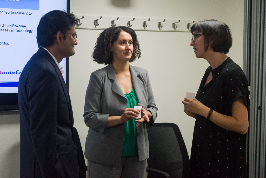 Sunit Juriwala, ASTHMAXcel, Janis Paradiso, Einstein Director, Office of Biotechnology and Business Development and Karolyn Chamberlin, ELabNYC Head of mentorship