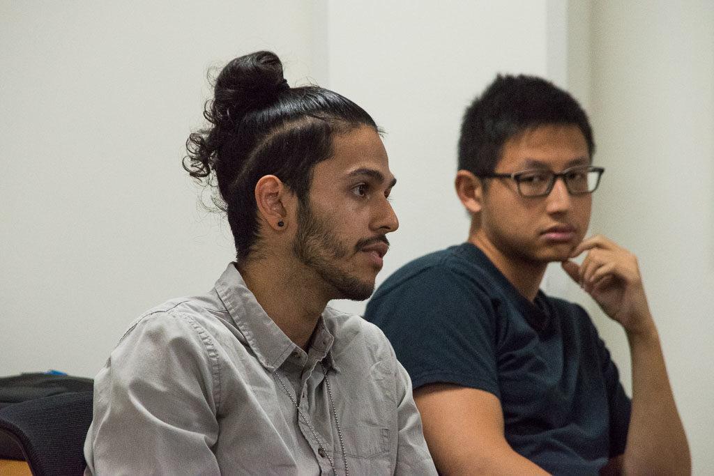 Alexander Ferrena and Vincent Tu, Einstein graduate students