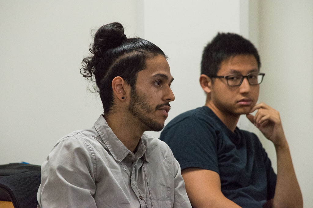 Alexander Ferrena and Vencent Tu, Einstein graduate students