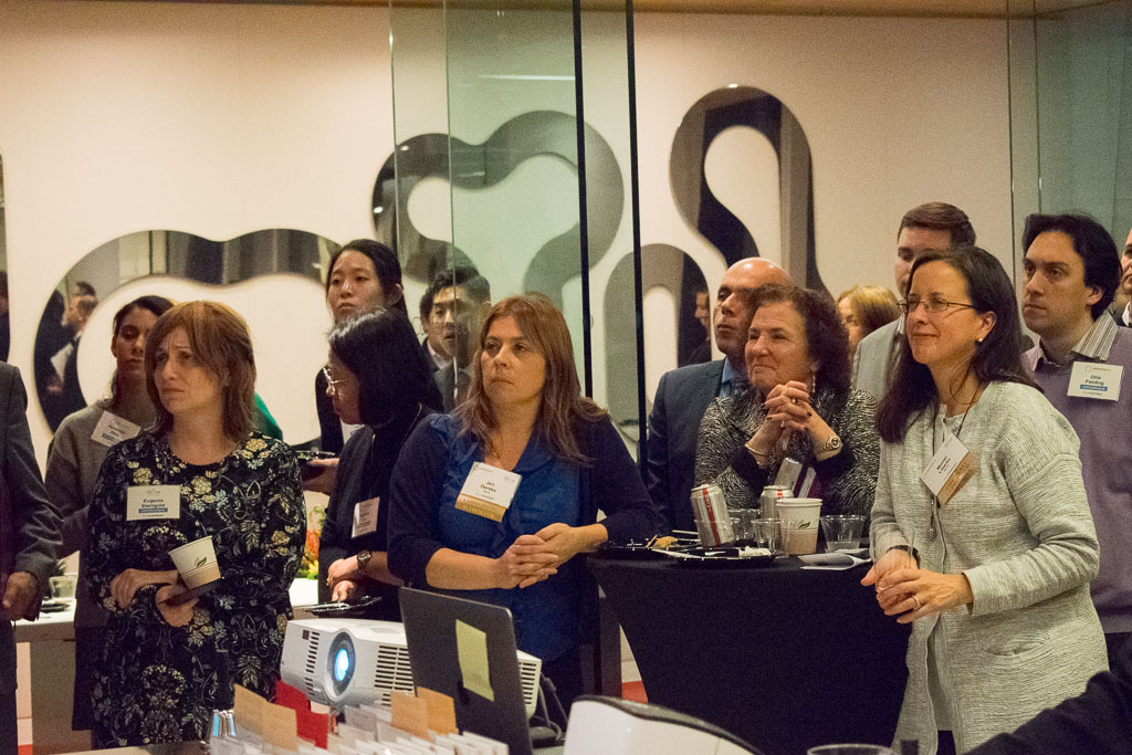 Eugenina Steingold, JelikaLite; Jen Dereka, Mintz; Janet Silverman, Castle Consulting Services; Muriel Liberto, Mintz