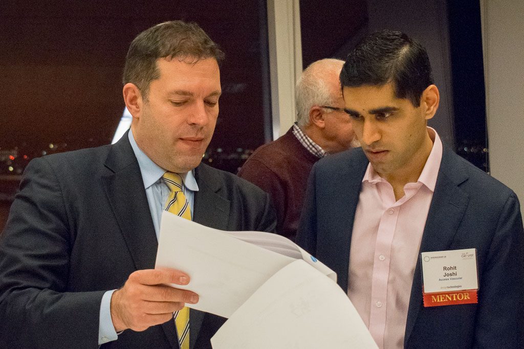 Paul Booth, Applied Surgical Robotics; Rohit Joshi, Access Vascular