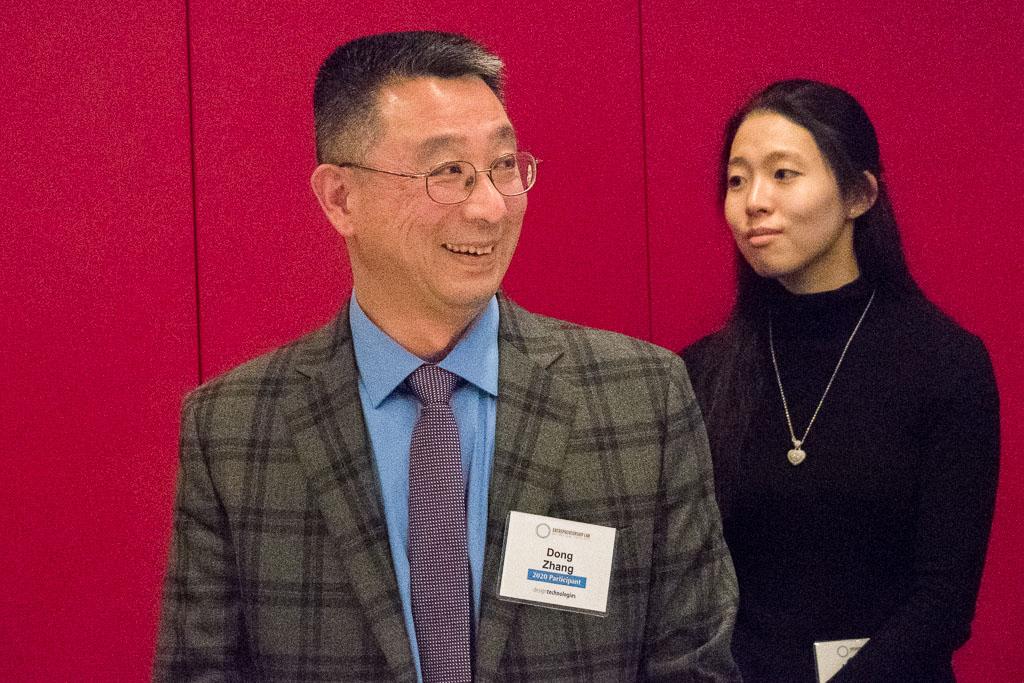 Dong Zhang, ELabNYC 2020 Participant; NaYoung Yang, Mara Nanotech