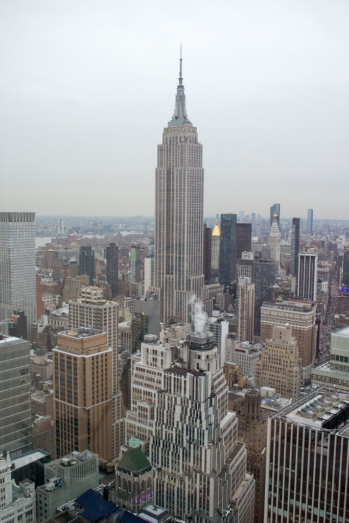 The Empire State Building, viewed from Brown Rudnick