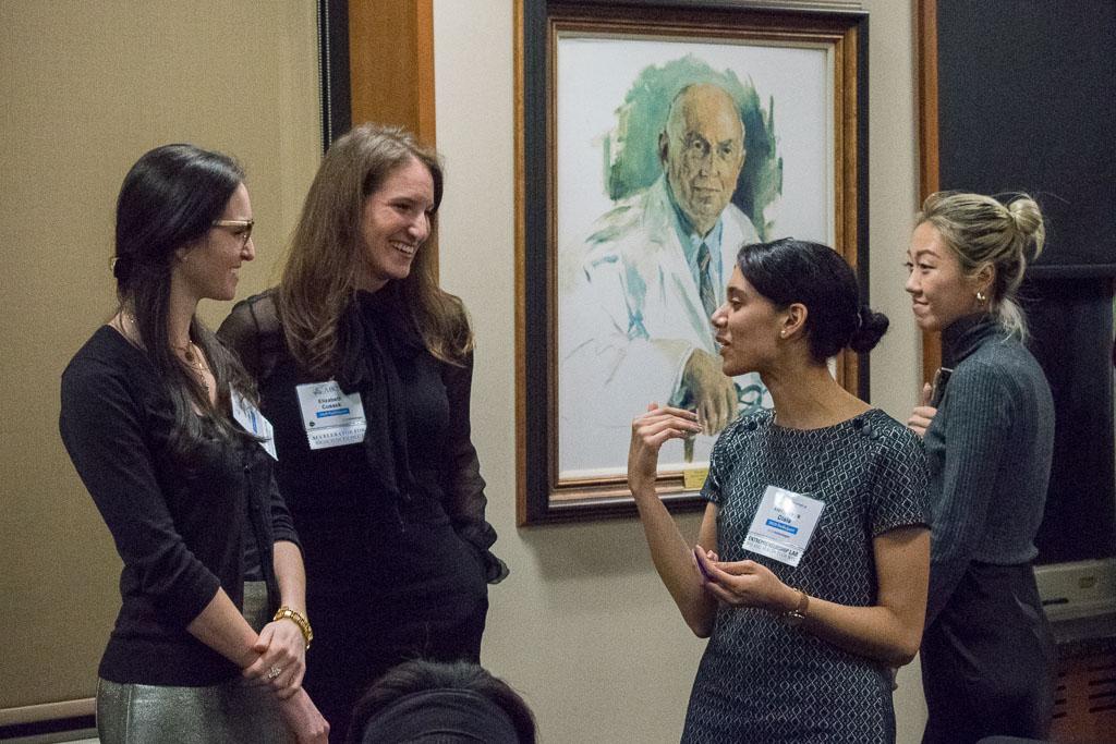 Laura Cusack & Elizabeth Cusack, RBK Biotech; Hennesys Disla, Purple; Nini Fan, Brooklyn Innoseq (MaMome)