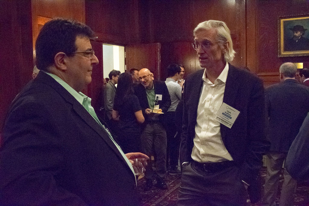 Mike Catalano, CatalanoBio; Clark Sullivan, Cox Biosciences LLC